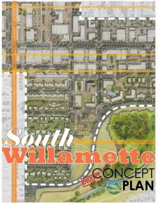 South Willamette Draft Concept Plan