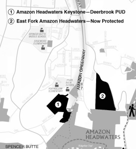 Amazon Headwaters Location Map 1/11/2011