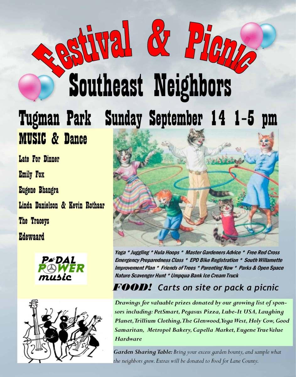 Southeast Neighbors Picnic And Neighborhood Festival Sunday September 14 2014