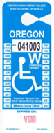 wheel chair only placard