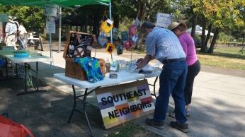 Southeast Neighbors Raffle Table