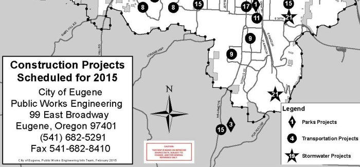 2015 Proposed Construction Projects