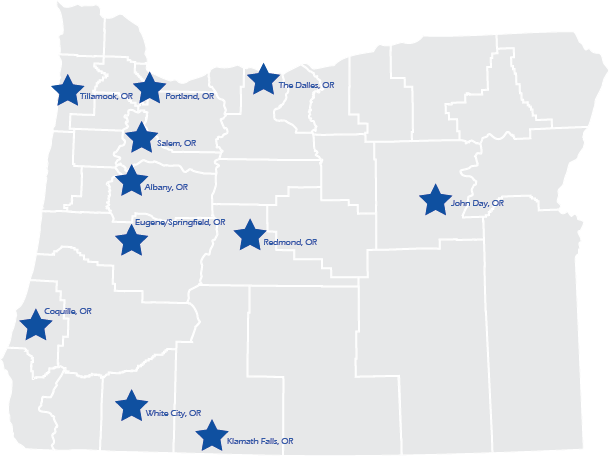 Regional Forums Map