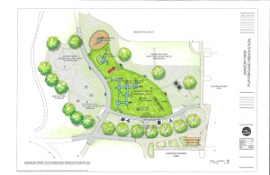 Amazon Park Playground Project Site Plan