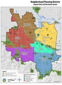 Neighborhood Planning Districts