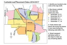 Leaf Collection and Delivery Map