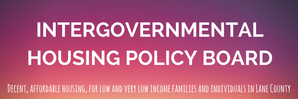 Intergovernmental Housing Policy Board